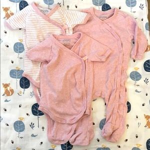 Giggle Brand Pink One-piece bundle - 3 outfits